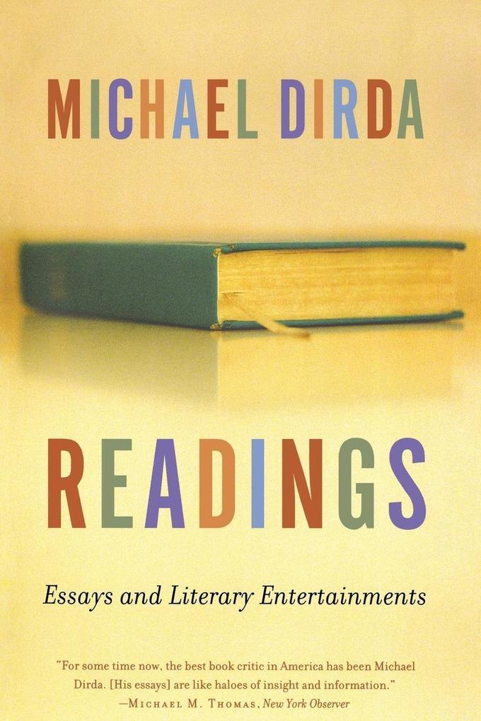 Readings: Essays and Literary Entertainments als Taschenbuch