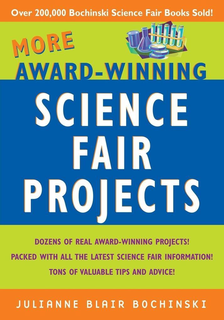 More Award-Winning Science Fair Projects als Taschenbuch