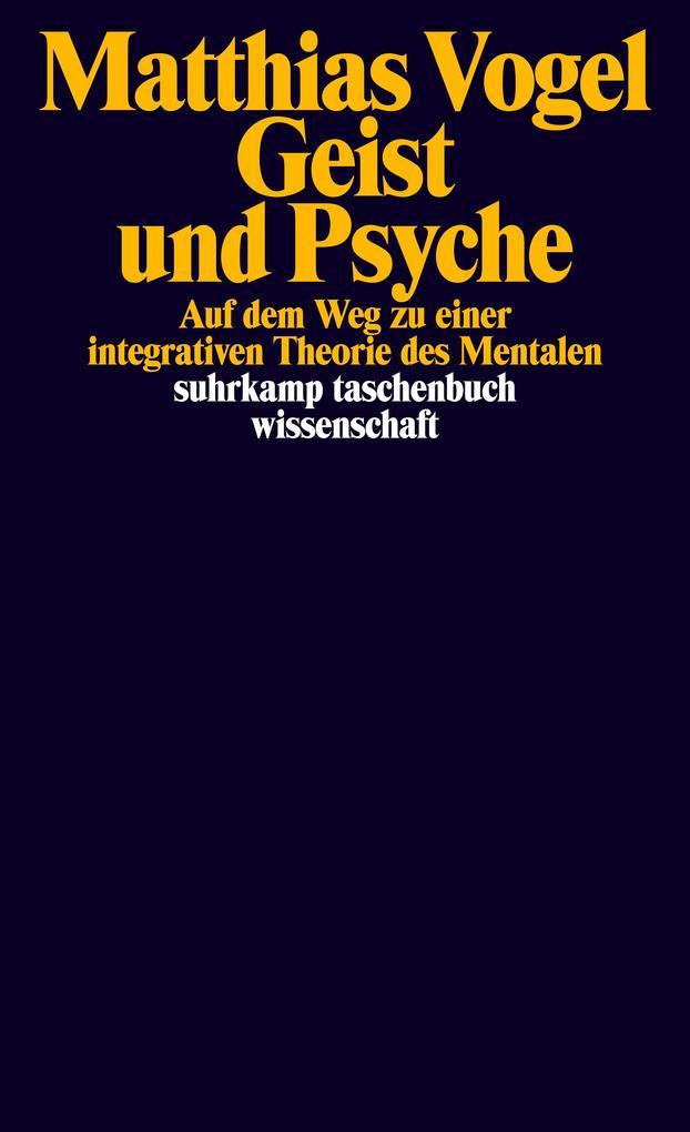 Geist und Psyche als Taschenbuch