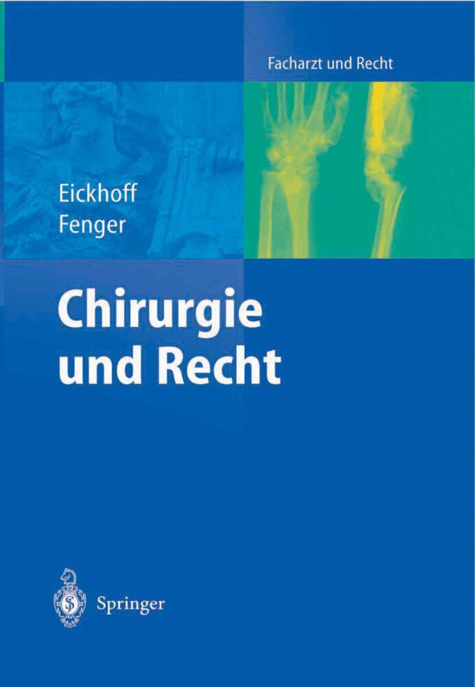 Chirurgie und Recht als Buch