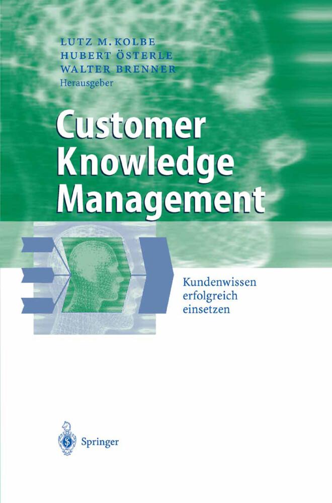 Customer Knowledge Management als Buch