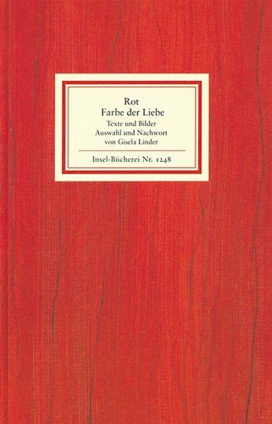 Rot - die Farbe der Liebe als Buch