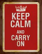 Keep calm and carry on Blankbook