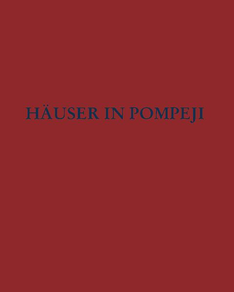 Häuser in Pompeji 12 als Buch
