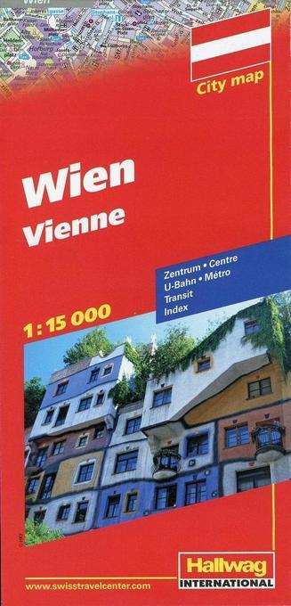 City map Wien 1 : 15 000 als Buch