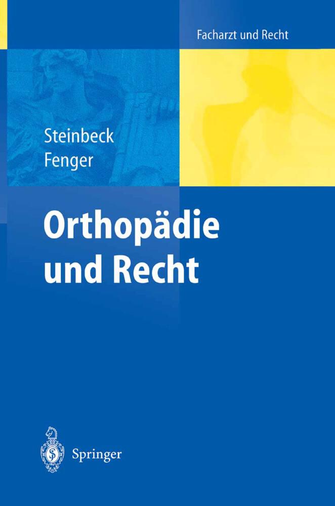 Orthopädie und Recht als Buch
