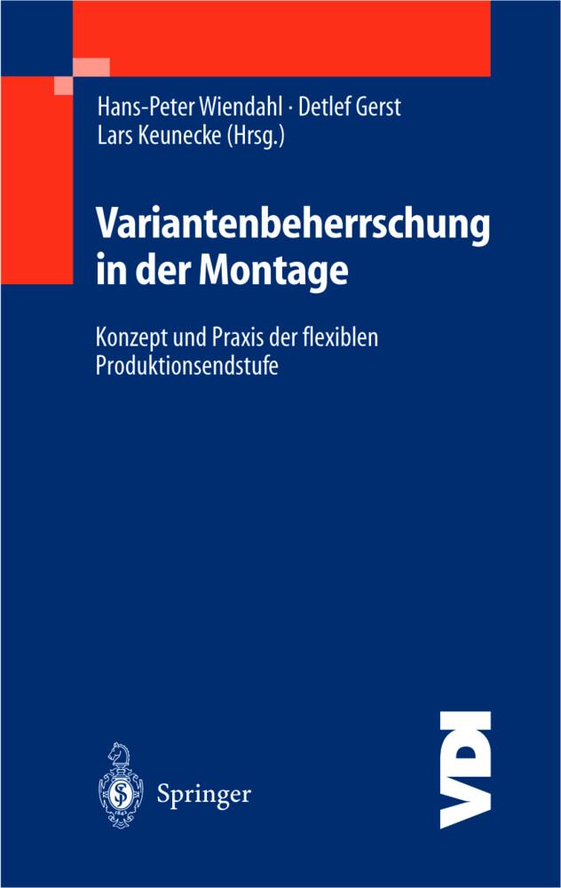 Variantenbeherrschung in der Montage als Buch