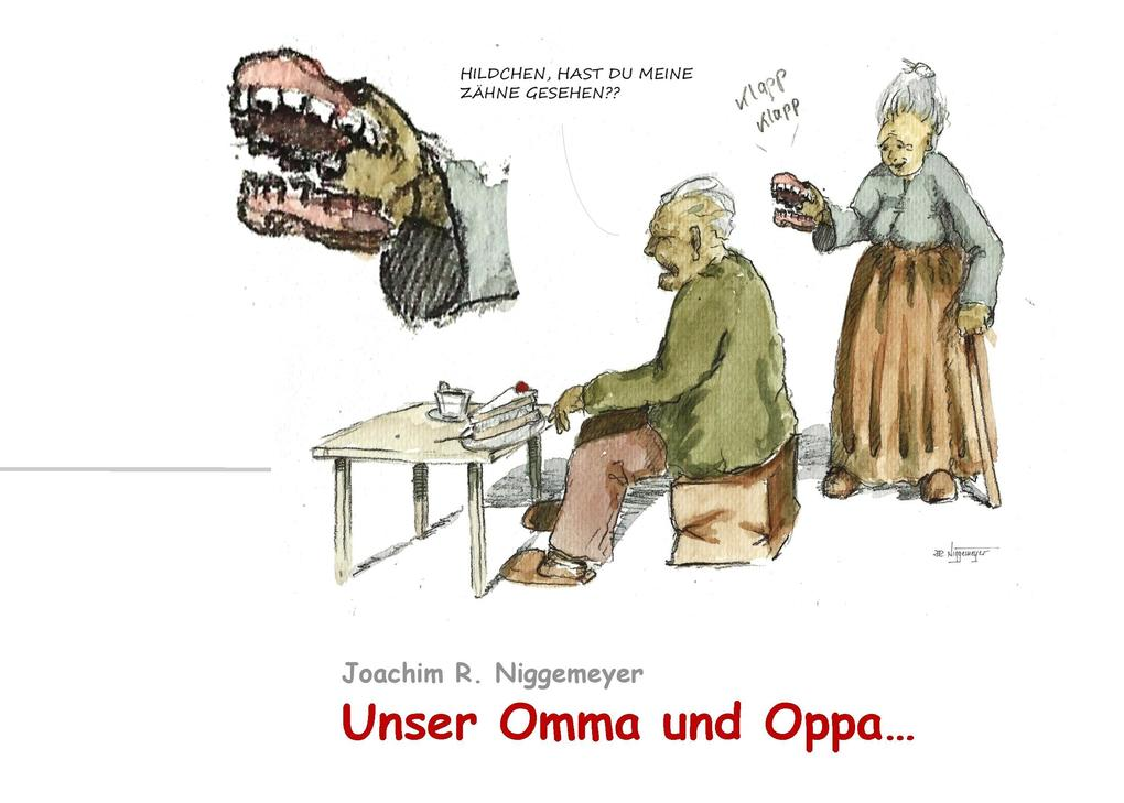 Unser Omma und Oppa... als Buch