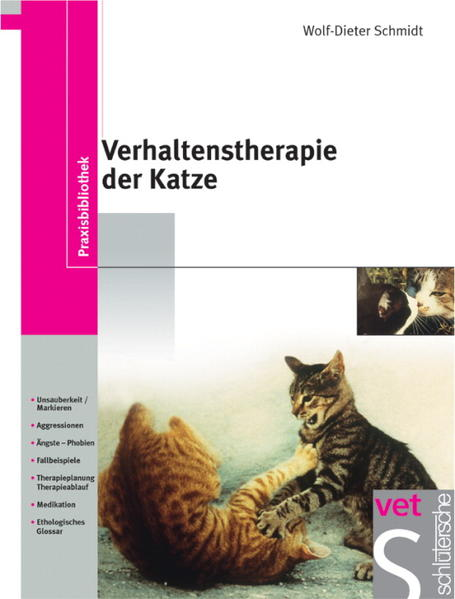 Verhaltenstherapie der Katze als Buch