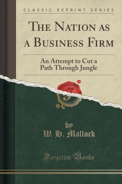 The Nation as a Business Firm als Taschenbuch v...