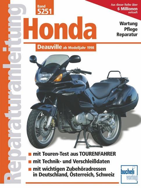 Honda Deauville als Buch