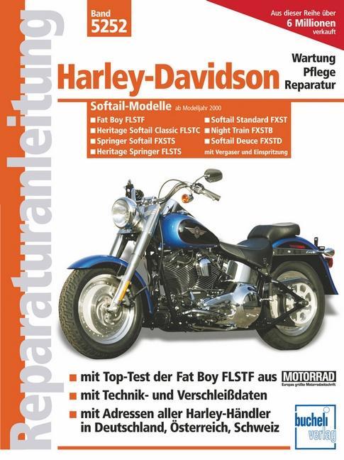 Harley-Davidson Fat Boy/Softail/Springer ab Modelljahr 2000 als Buch