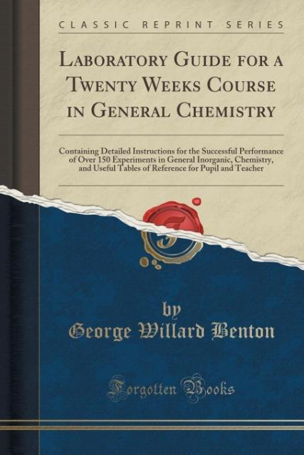 Laboratory Guide for a Twenty Weeks Course in G...