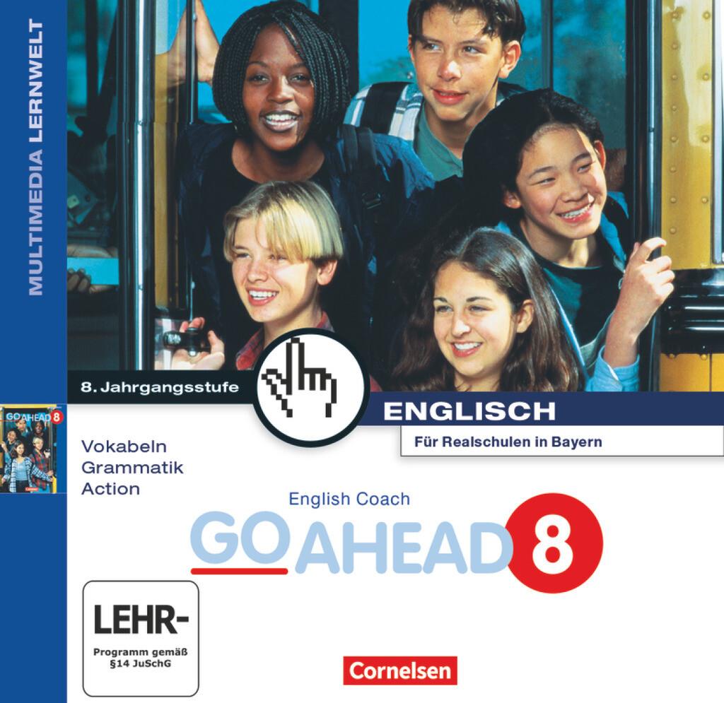 English Coach Multimedia. Go Ahead 8. CD-ROM ab Windows 95 als Software