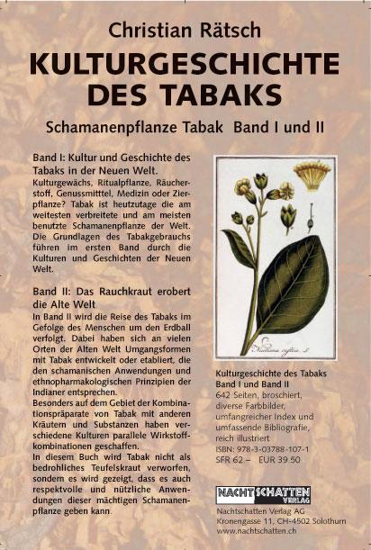 Schamanenpflanze Tabak / 2 Bände als Buch
