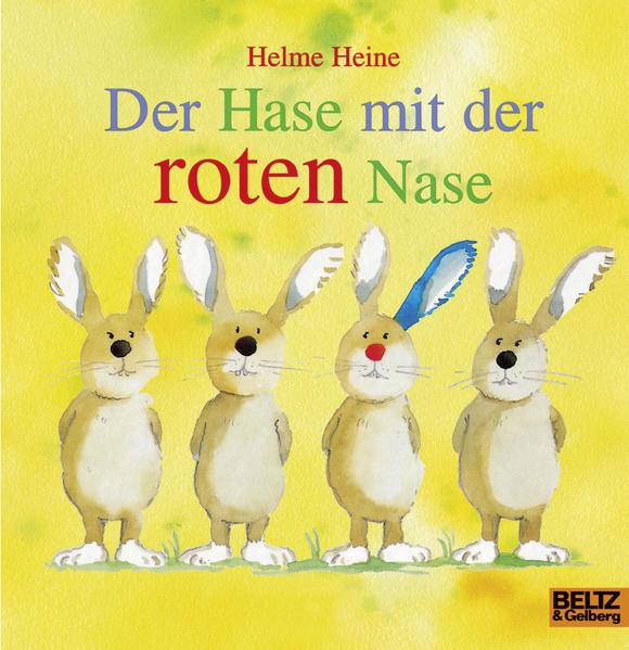 Der Hase mit der roten Nase als Buch