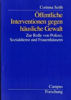 Öffentliche Intervention gegen häusliche Gewalt als Buch