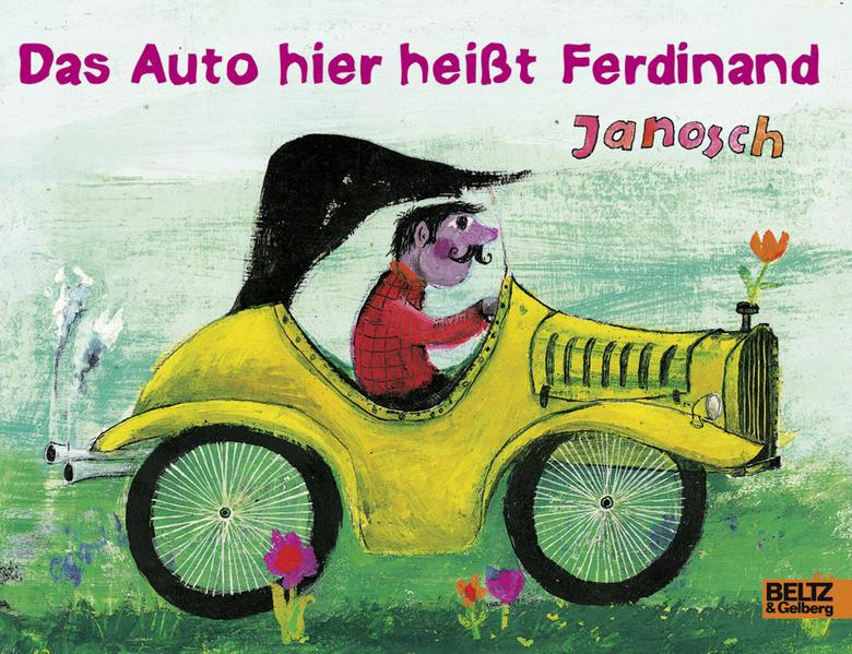 Das Auto hier heißt Ferdinand als Buch