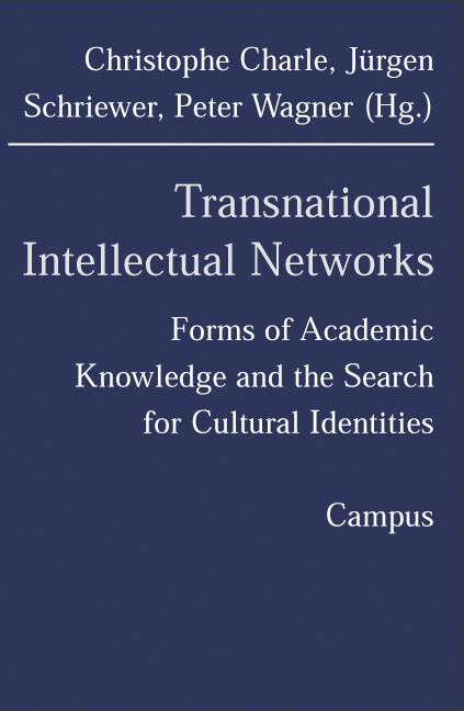 Transnational Intellectual Networks als Buch