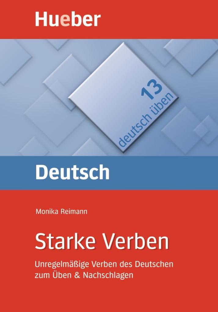Deutsch üben 13. Starke Verben als Buch