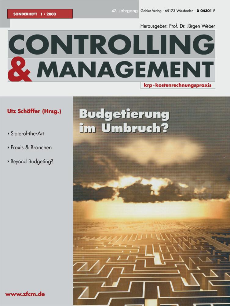 Budgetierung im Umbruch ? als Buch von