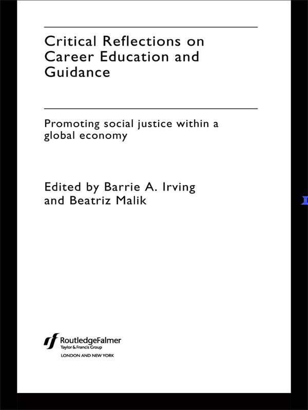 Critical Reflections on Career Education and Gu...