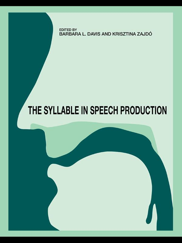 Syllable in Speech Production als eBook Downloa...