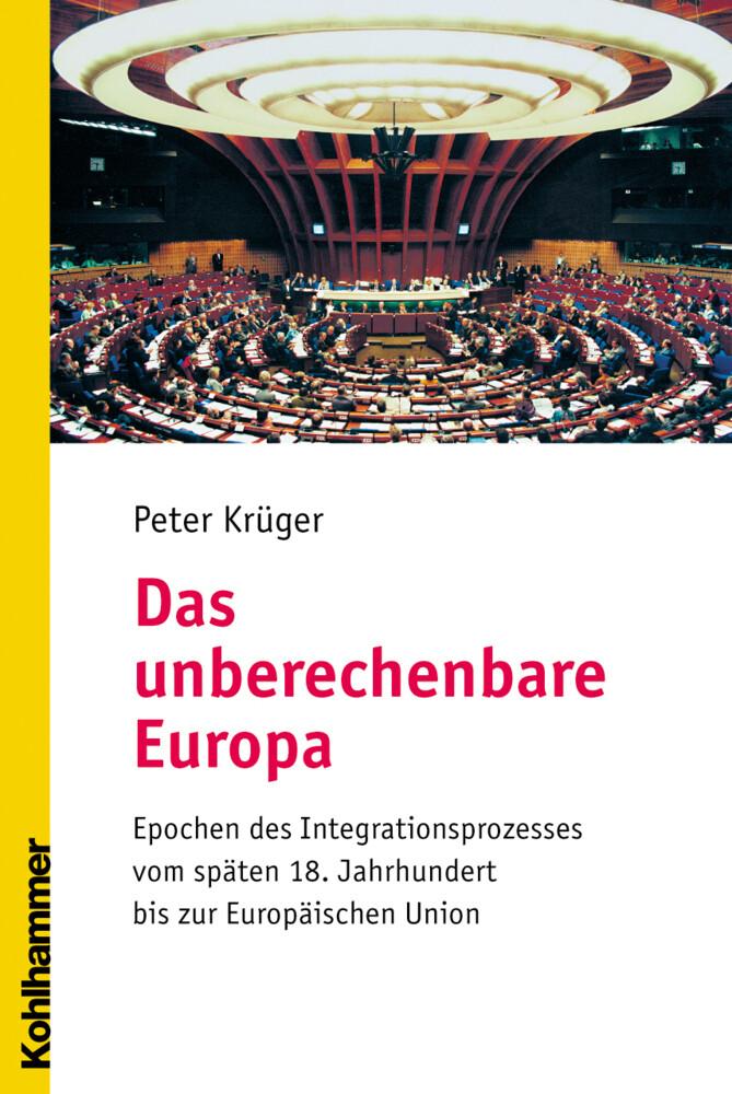 Das unberechenbare Europa als Buch