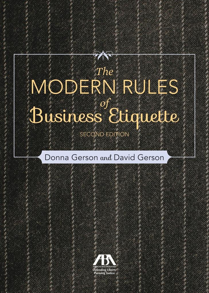 Modern Rules of Business Etiquette als eBook Do...