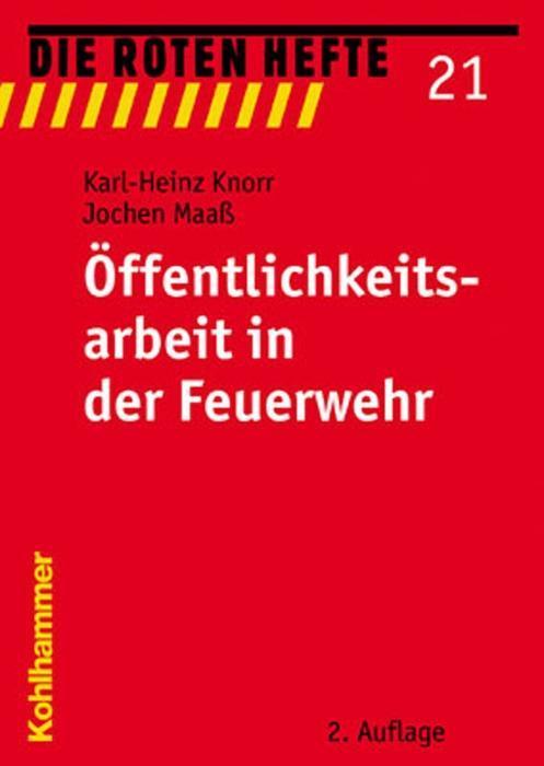 Öffentlichkeitsarbeit in der Feuerwehr als Buch