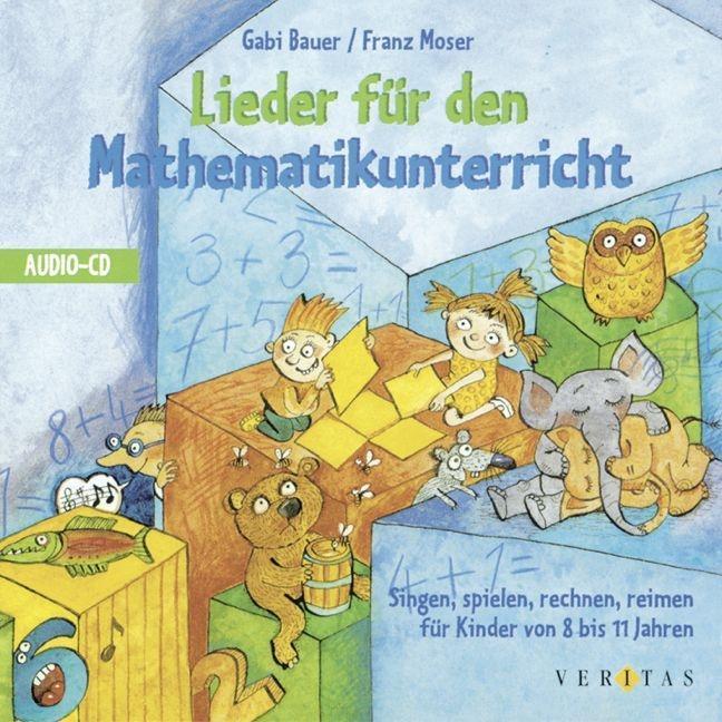 Lieder für den Mathematikunterricht. CD als Hörbuch