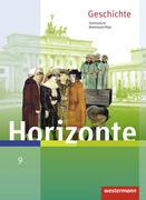Horizonte 9. Schülerband. Geschichte für Gymnasien. Rheinland-Pfalz