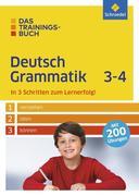 Das Trainingsbuch. Deutsch Grammatik 3-4