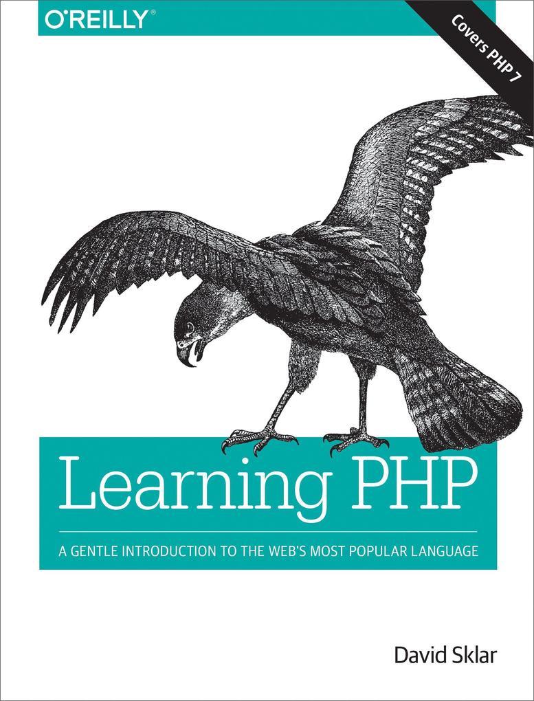 Learning PHP als Buch von David Sklar