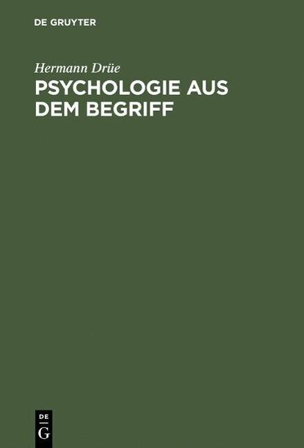 Psychologie aus dem Begriff als eBook Download ...