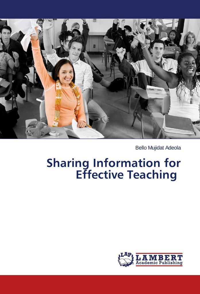 Sharing Information for Effective Teaching als ...