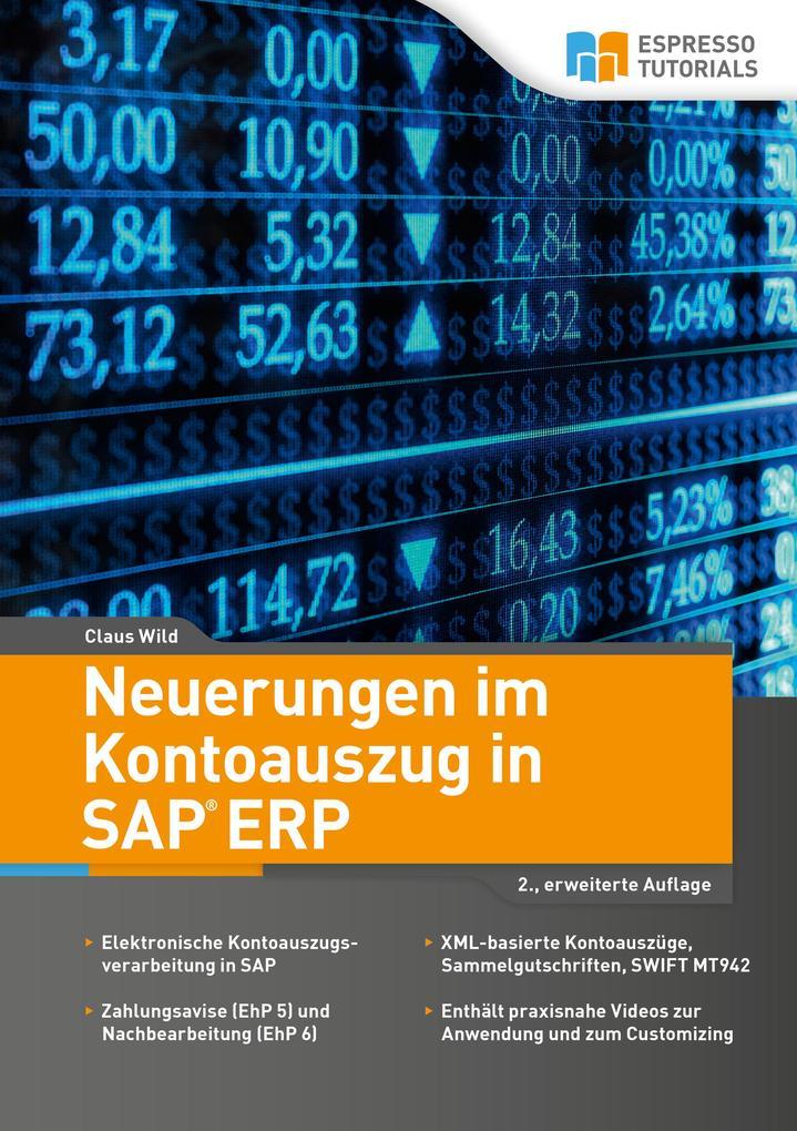 Neuerungen im Kontoauszug in SAP ERP als Buch v...