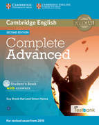 Testbank Complete Advanced Second edition. Student's Book with answers with CD-ROM with Testbank