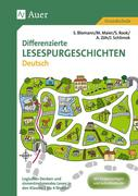 Differenzierte Lesespurgeschichten Deutsch