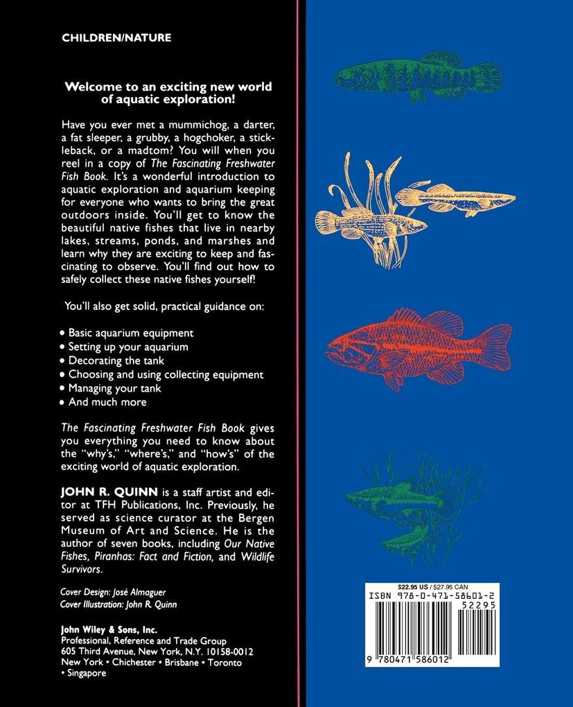 The Fascinating Freshwater Fish Book: How to Catch, Keep, and Observe Your Own Native Fish als Taschenbuch