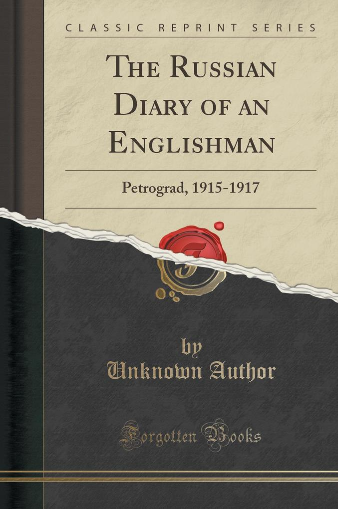 The Russian Diary of an Englishman als Buch von...