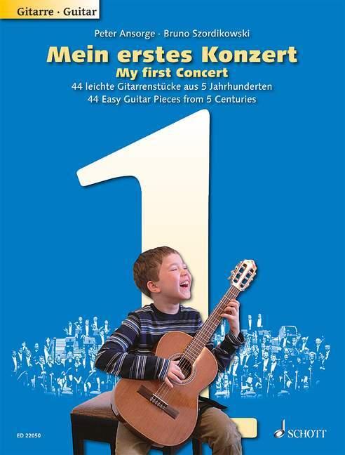 Mein erstes Konzert. Gitarre als Buch von