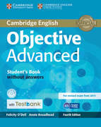 Testbank Objective Advanced Fourth edition. Student's Book without answers with CD-ROM with Testbank