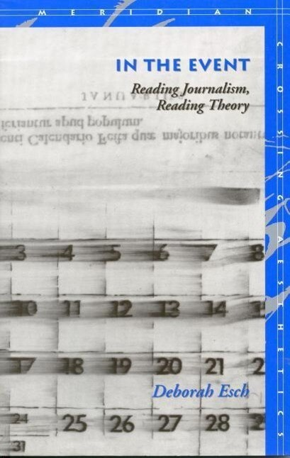 In the Event: Reading Journalism, Reading Theory als Taschenbuch