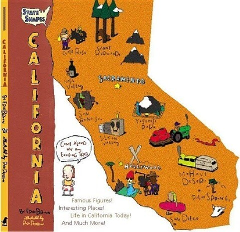 State Shapes: California als Taschenbuch