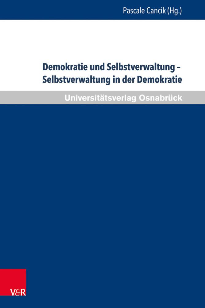 Demokratie und Selbstverwaltung - Selbstverwalt...