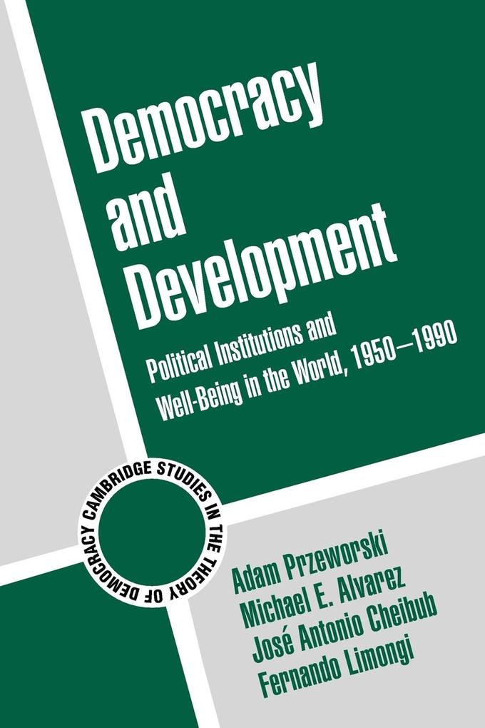 Cambridge Studies in the Theory of Democracy als Buch
