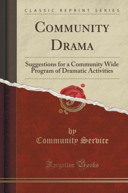 Community Drama als Taschenbuch von Community S...