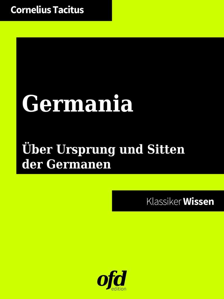 Germania als eBook