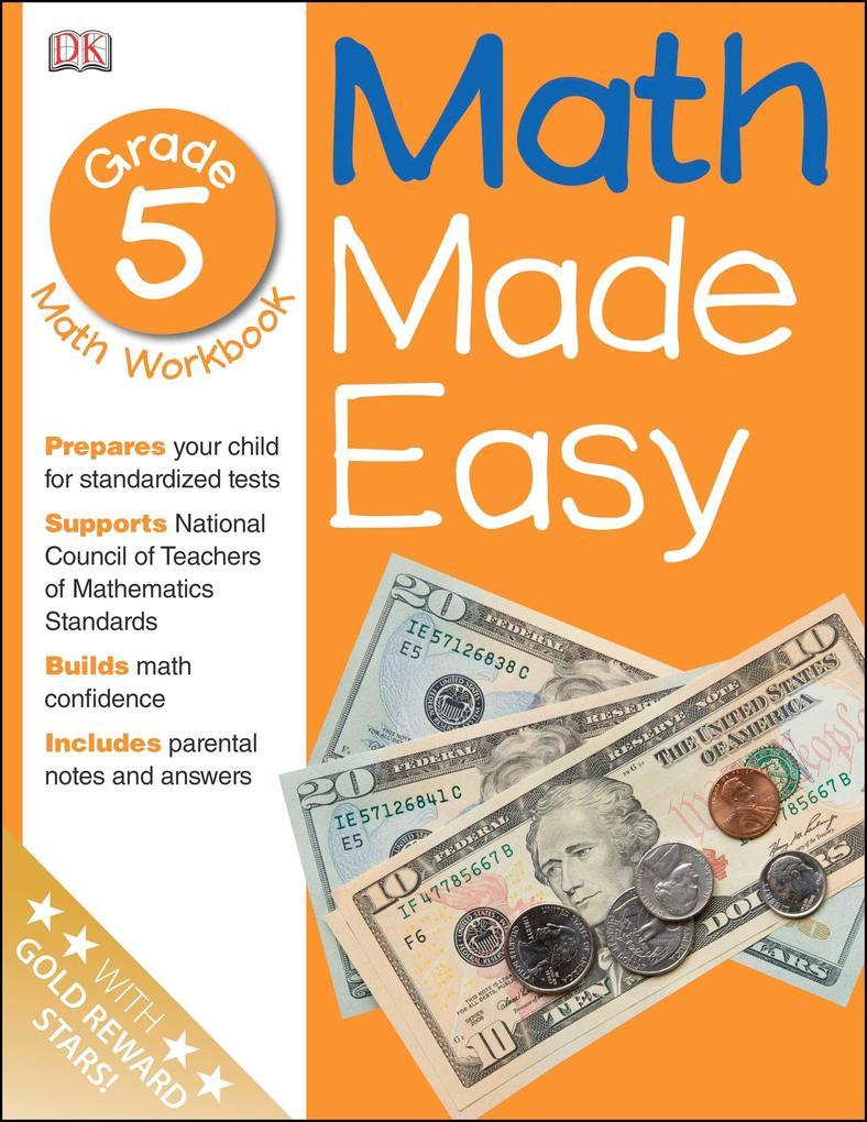 Math Made Easy: Fifth Grade als Taschenbuch